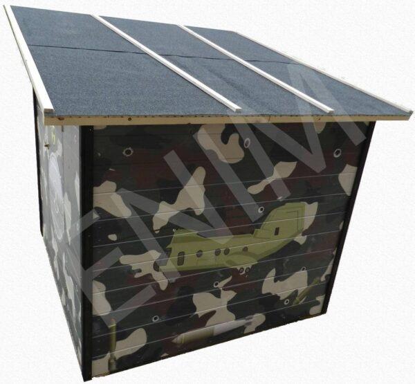 detsky dreveny domcek bunker, Enim, Rožnava