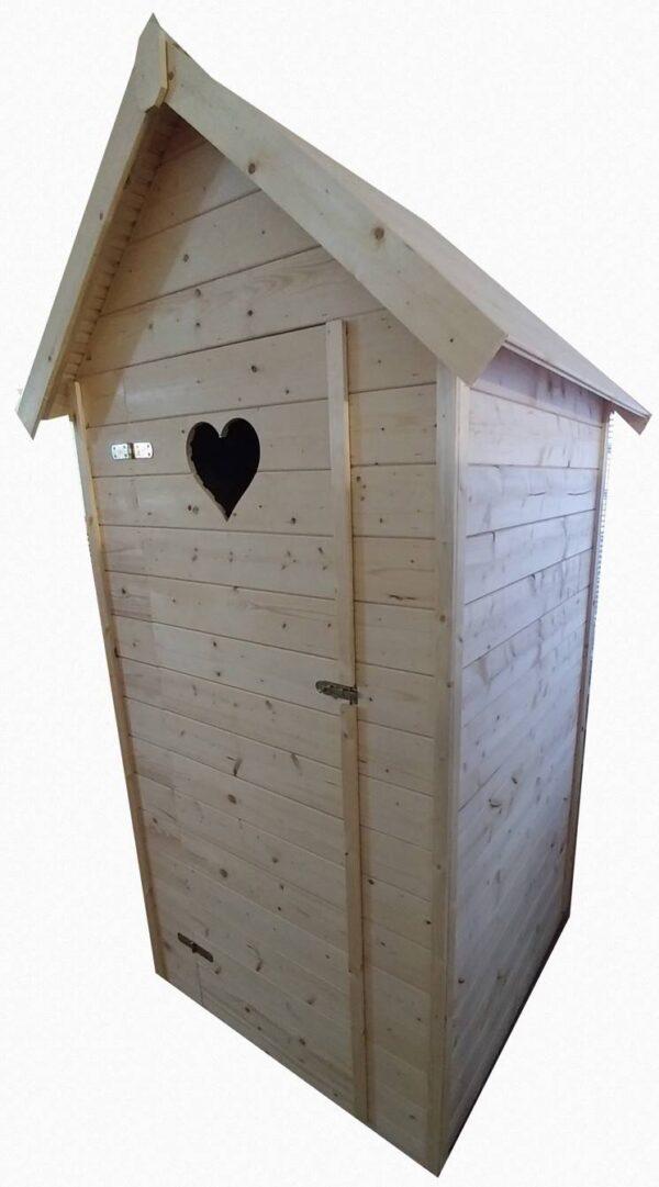 Drevená latrína Enim, Rožňava