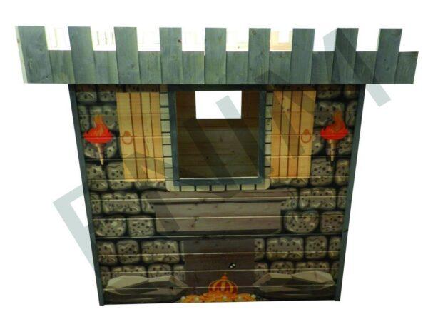 Drevený detský domček Drak - Enim