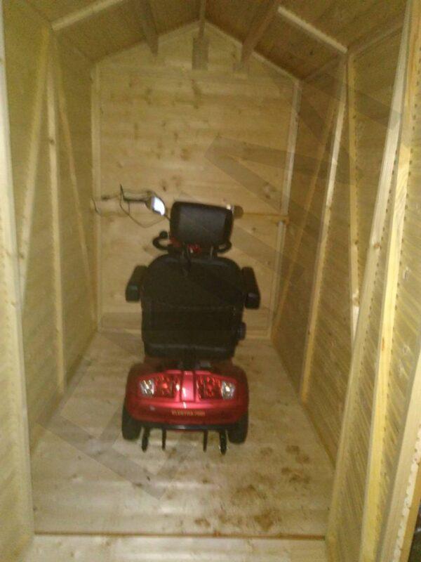 garáž pre motorku, garáž pre bicykel, garáž pre elektrický vozík