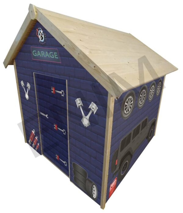 domček na hranie garáž