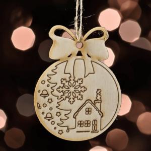 .Ozdoby na vianočný stromček – mini sada III.