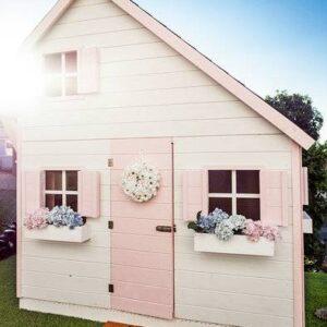Drevené záhradné domčeky pre deti